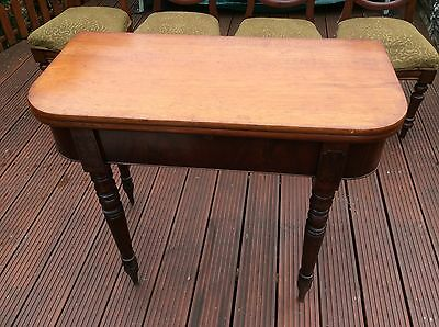 Victorian Balloon Back Chairs And Table