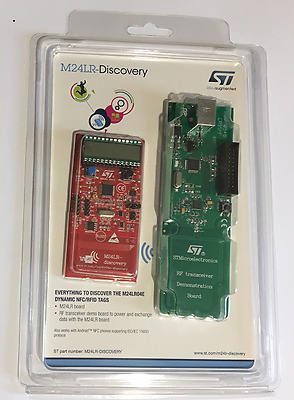 Learn RFID Memory Stucture and Commands Using CR95HF - Software Only