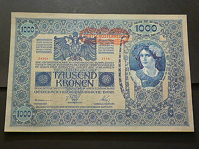 Austria, January 2nd 1902, One Hundred 1000 Kronen Uncirculated #G2026