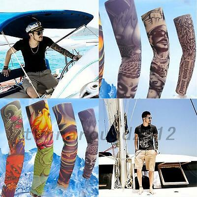 1 Pair  Bike Bicycle Arm Cover Sleeve Cuff Outdoor Sun Protection Portable New
