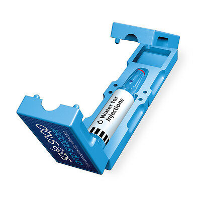 blue amp, vial, ampoule opener/breaker/snapper to safely open glass ampoules