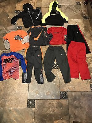 Lot Of Boys Clothes(Nike...some Nwt)-size 6