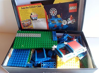 Quantity of Lego, mainly space vehicles and figures (shoe box full).