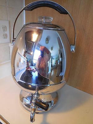 Vintage Phillips Stainless Steel 35 cup Coffee Percolator / Electric Samovar