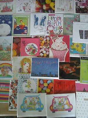 100 x mixed greetings cards. joblot , wholesale , carboot