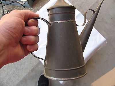 Vintage Oil Can with Spout Machinist Auto great condition vintage rare