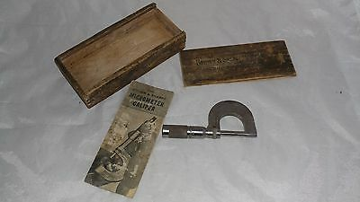 Vintage Brown And Sharpe No. 10 Micrometer Caliper