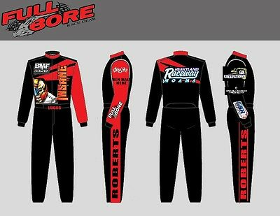 Custom DOUBLE LAYER  Race Suit  SFI 3.2a/5