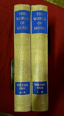 The World of Music: A Treasury for Listener and Viewer. 2 Vol (Hardback 1957)