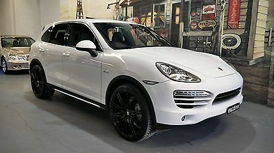 2012 Porsche Cayenne 92A MY13 Diesel Tiptronic White Automatic 8sp A Wagon