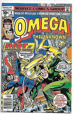 Omega the Unknown #9 (1977 Marvel; vf+ 8.5)