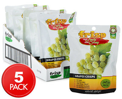 5 x Frisp Grape Crisps 15g