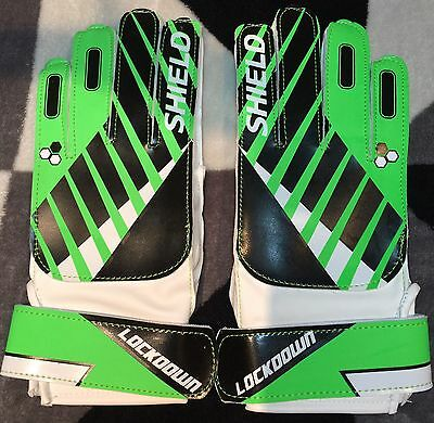 NEW Goalkeeper Gloves Soccer Sports Size Youth Goal keeper Football Training