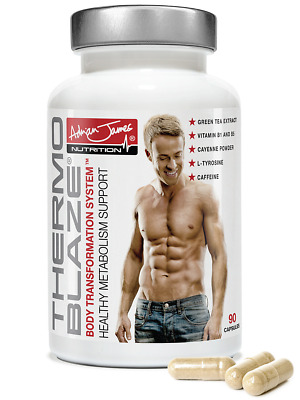 Adrian James Nutrition - Thermoblaze Thermogenic Fat Burner for Men & Women