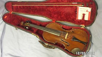 Antique Joseph Guarnerius Model 1736  4/4 Violin Sold As Is