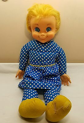 1967 Mattel Family Affair Mrs Beasley Doll Apron Not Talking No Glasses or Colla