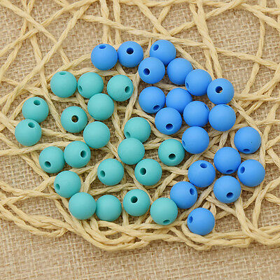 DIY Silicone Teething Beads Making Chain Necklace Infant Nursling Chew Toy New