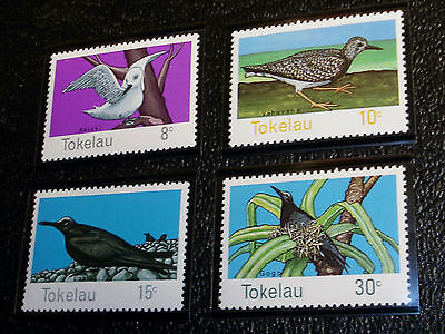 1977 Set of 4 Tokelau Islands Stamps, Scott # 57 to 60 Mint Never Hinged