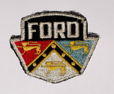 Vintage 1950s Ford Motor Company Cloth Patch