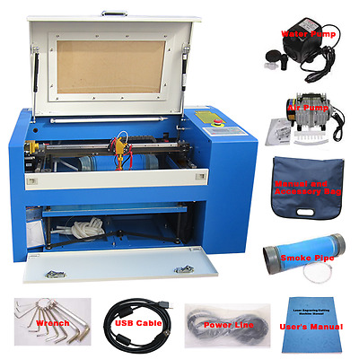 New 50w CO2 Laser Engraving and Cutting Machine 3050 with Honeycomb table