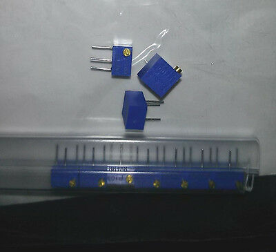 Qty 5 pcs-BOURNS-3266P-1-103LF-Multi-turn TRIMMER RESISTORS 1/4W, 10Kohms, 10%