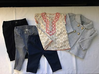 Baby Gap Pants and Sweater & Carter's Top size 3-6 months
