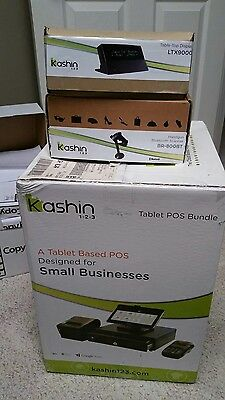 Kashin 1-2-3 Cloud based POS Register System (free table displayblue tooth gun)
