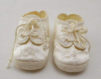 Vintage Baby Christening Shoes