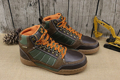 Size 10.5 NEW Forsake Hiker Hiking Boots Brown/Green  Waterproof leather ankle