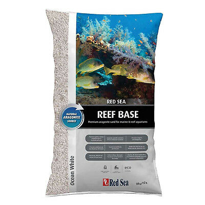 Red Sea Reef Base Ocean White 10kg Aquarium Fish Tank Marine Substrate