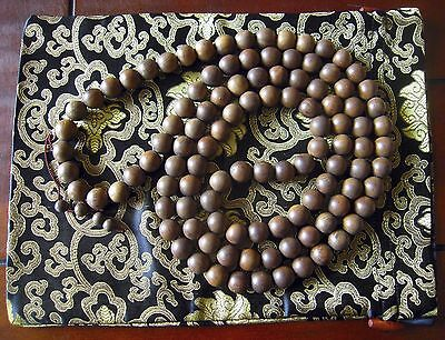 Agarwood 405gr Indonesian Eaglewood aloeswood aguilaria 108 Mala 16mm + silk bag