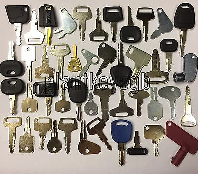 Plant Tractor Agri Forklift Keys - £65 For Limited Time Only!!!