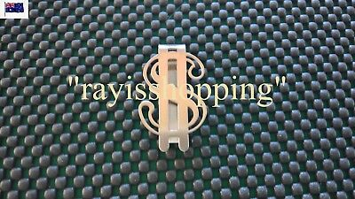 Dollar Sign $ Wallet Note Money Clip Holder Credit Cards ID License SLIDE Style