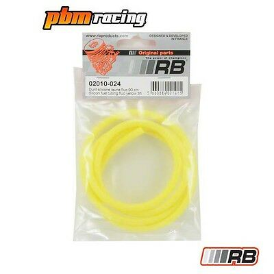 RB RC Nitro Silicone Fuel Tubing Fluo Yellow - RB-02010-024