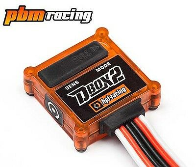 HPI Racing D-Box 2 Adjustable Stability Control System For RC Drift Cars 105409