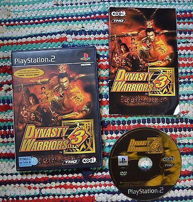 Dynasty Warriors 3 PS2 / PAL / FR / Complet