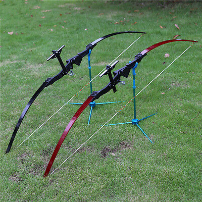 30lbs Straight Pull Bow Longbow Arrow Shooting Practice Hunting Install Bow