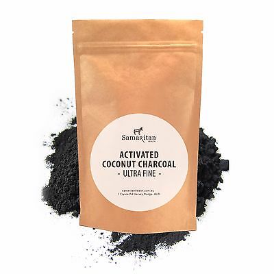 Activated Coconut Charcoal Powder | 100% Pure | High Quality | 25g 50g 100g 200g