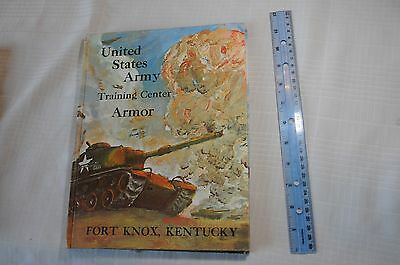 United States Army Training Center Armor from Fort Knox Kentucky 1969