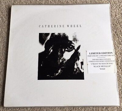 "CATHERINE WHEEL 2 x 12"" Set I WANT TO TOUCH YOU EX+ Vinyl 1992 Shoegaze Indie"