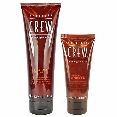 American Crew Firm Hold Styling Hair Gel Moulder Shaper Alcohol Free