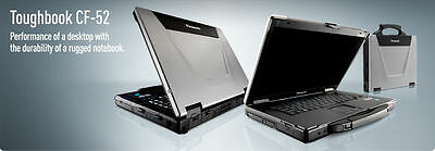 "Panasonic Toughbook CF-52 Mk3 2.4Ghz 15.4"" Win 7 Pro Laptop"