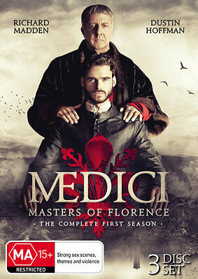 Medici Masters Of Florence Season 1 DVD R4 New & Sealed // Pre-Order