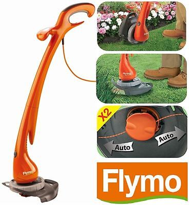 Flymo Contour Corded XT Strimmer Electric Grass Trimmer & Lawn Edger Plant Gaurd