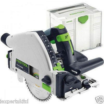 Festool TS55 REBQ-Plus Circular Saw 240V  in Systainer NEW 561551
