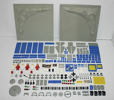 Bundle of VINTAGE SPACE LEGO with MINIFIGURES & BASEPLATES / BOARDS