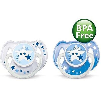 Baby Shining Soother AVENT Glow in The Dark Pacifier Handle BPA Free 6-18 Months