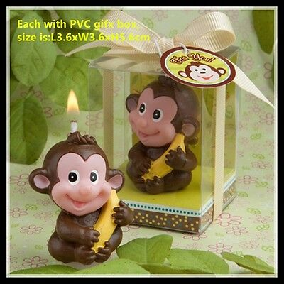Cute Little Monkey Candle - Cake Topper - NEW