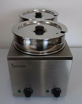 Wet Operation Commercial Electric BAIN MARIE - 2 POTS