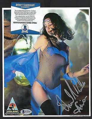 Shannon Baksa signed 8x10 photograph BAS Authenticated Star Wars